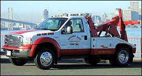 San Francisco Wheel Lift Towing
